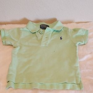 Baby Boy Ralph Lauren Polo Shirt 12 Months